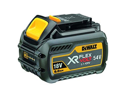 Dewalt Dcb546-xj Xr Flex Volt Battery, 18 V, Yellow/black, 6 A