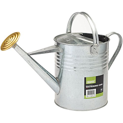 Draper Gwc9 9 Litre Galvanised Watering Can, Blue