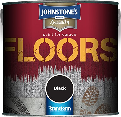 Johnstone's 307945 2.5l Garage Floor Paint - Black