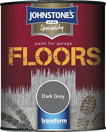 Johnstone's 307946 2.5l Garage Floor Paint - Dark Grey