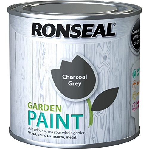 Ronseal Garden Paint Charcoal Grey 250ml