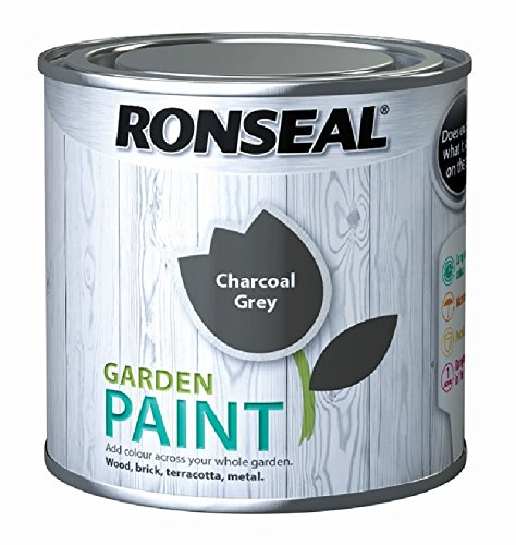 Ronseal Garden Paint Charcoal Grey 2.5 Litre