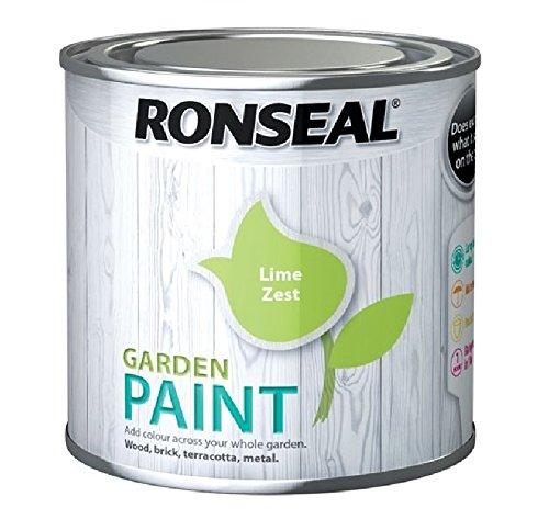 Ronseal Garden Paint Lime Zest 2.5 Litre