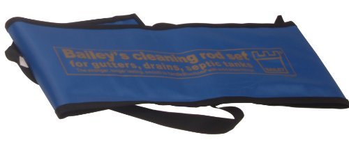 Bailey 5431 Universal Drain Rod Set In Carry Bag (3 Pieces)