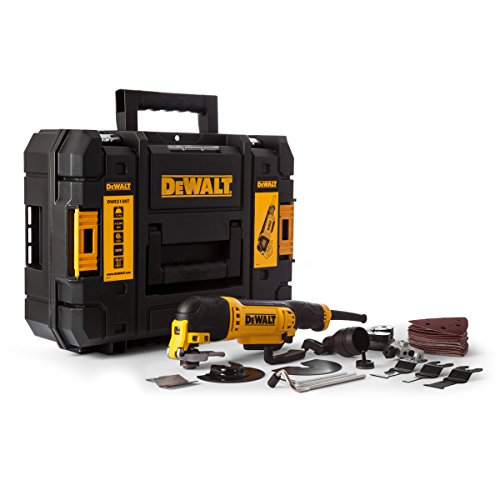 Dewalt Dwe315kt 300w Oscillating Multi-tool With Quick Change Tool