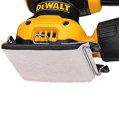 Dewalt Dwe6411-gb Sheet Sander, 240 V, Yellow/black, Set Of 3 Piece