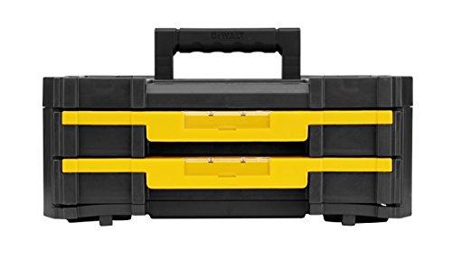 Dewalt T-staktool Storage Box With 2-shallow Drawers