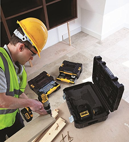 Dewalt Tstak Suit Case Flat Top Including Pre-cut Foam