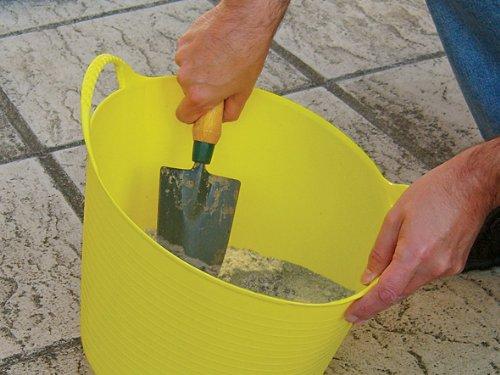 Faithfull Polyethylene Flex Tub 60l Yellow