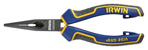 Irwin Visegrip 1950506 6-inch Long Nose Pliers - Blue/yellow