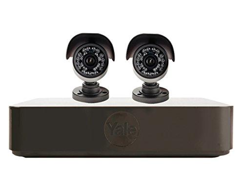 Yale Smart Hd720 Cctv System (b) - 2 Camera/ 4 Channel