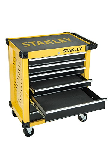 Stanley Tools Sta174306 174306 27-inch 7 Drawer Roller Cabinet - Yellow
