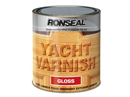 Ronseal Yvg500 500ml Exterior Yacht Varnish Gloss