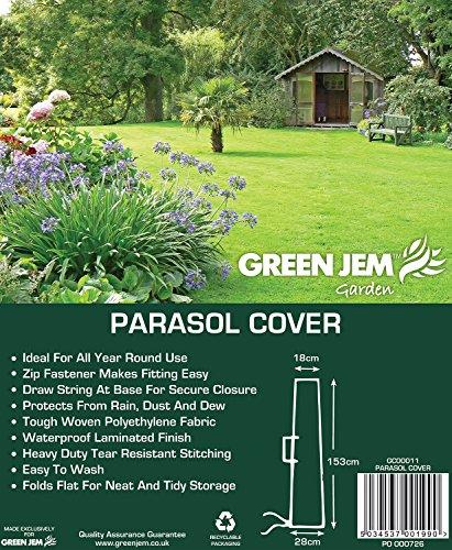 Green Jem Parasol Cover