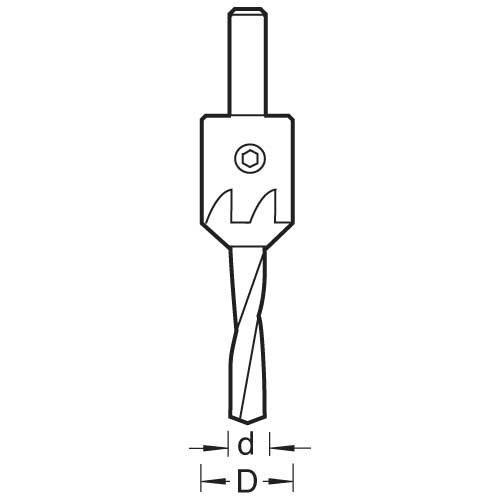 Trend - Countersink 5mm Diameter - 620/5ws