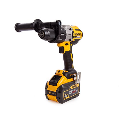 Dewalt Dcd996x1-gb Cordless Xr 3 Speed Brushless Combi Drill, 18 V, Yellow/black