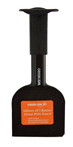 Green Jem Bolster Chisel, Black, 4-inch