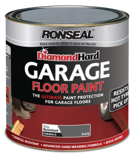 Ronseal 2.5l Diamond Hard Garage Floor Paint - Slate