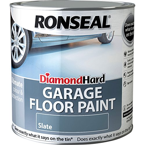 Ronseal Diamond Hard Garage Floor Paint Slate 5 Litre