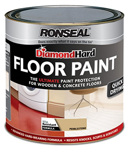 Ronseal Diamond Hard Floor Paint Slip Resistant Pebblestone
