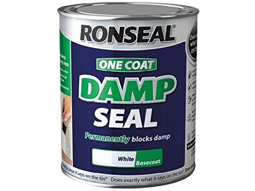 Ronseal Ocdsw25l 2.5 Litre One Coat Damp Seal - White