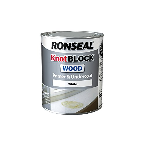 Ronseal Rslkbpu750 Knot Block Primer And Undercoat,white, 750 Ml