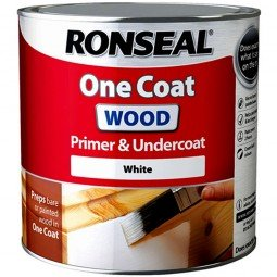 Ronseal One Coat Wood Primer And Undercoat, Clear, 250 Ml