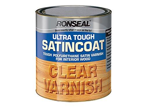 Ronseal Ultra Tough Varnish Satin Coat 250ml