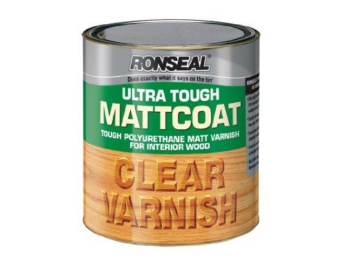 Ronseal Utvmc250 250ml Ultra Tough Internal Clear Mattcoat Varnish