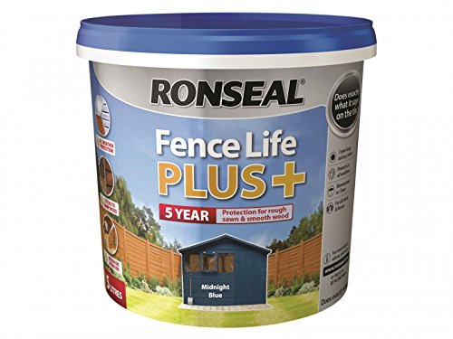 Ronseal Fence Life Plus+ Midnight Blue 5 Litre