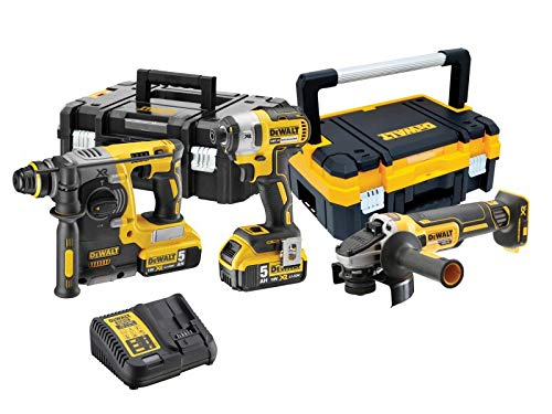 Dewalt Dck305p2t Xr Triple Kit 18v 2 X 5.0ah Li-ion