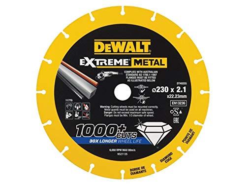 Dewalt Extreme Metal Cut Off Saw Blade 230 x 22.23 x 2.10mm