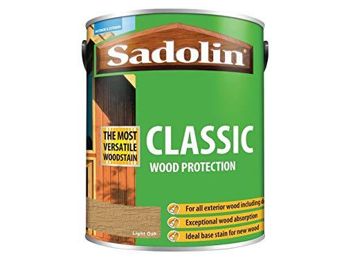 Sadolin Classic Wood Protection Light Oak 5 Litre