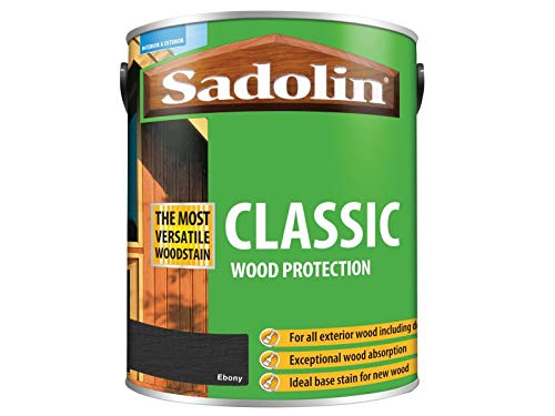 Sadolin Classic Wood Protection Ebony 5 Litre