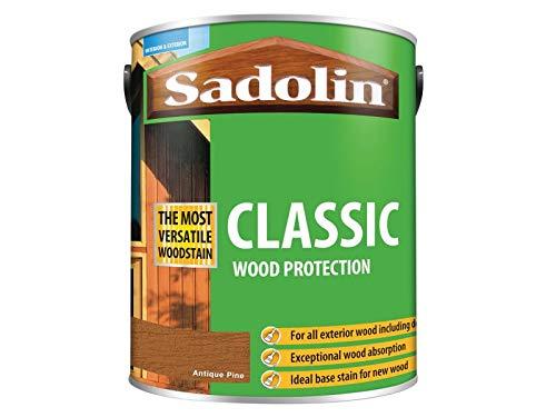 Sadolin Classic Wood Protection Antique Pine 5 Litre