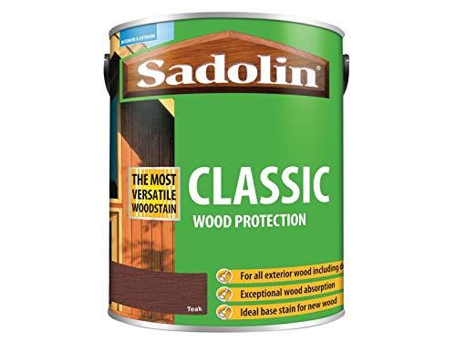 Sadolin Classic Wood Protection Teak 5 Litre