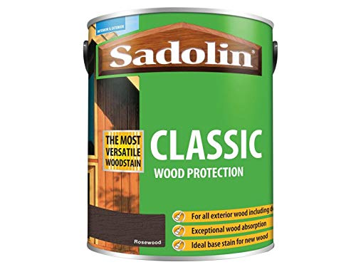 Sadolin Classic Wood Protection Rosewood 5 Litre