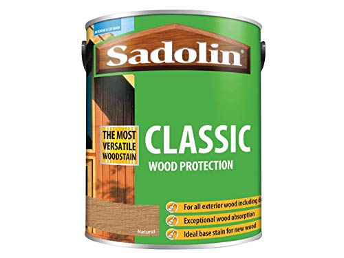 Sadolin Classic Wood Protection Natural 5 Litre