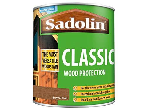 Sadolin Classic Wood Protection 1 Litre Burma Teak