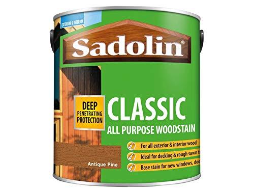 Sadolin Classic Wood Protection Antique Pine 2.5 Litre