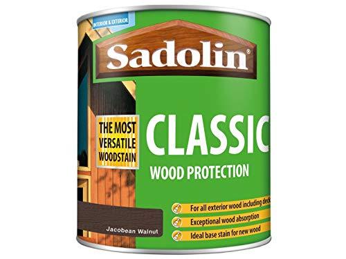 Sadolin Classic Wood Protection Jacobean Walnut 1 Litre
