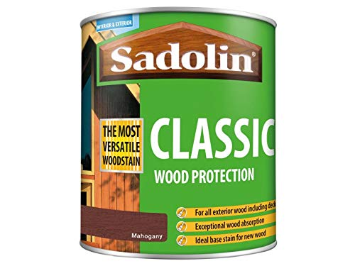 Sadolin Classic Wood Protection Mahogany 1 Litre