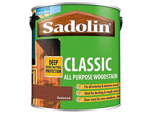 Sadolin Classic Wood Protection Redwood 2.5 Litre
