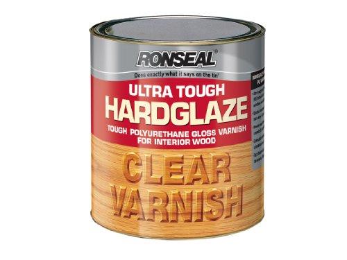 Ronseal Utvhg250 250ml Ultra Tough Hardglaze Internal Clear Gloss Varnish