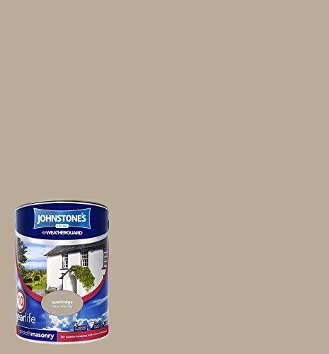 Johnstone's 5 Litre Smooth Masonry Paint - Quail Ridge