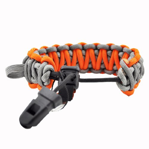 Gerber Bear Grylls Survival Paracord Bracelet - Grey
