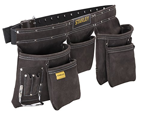 Stanley Leather Tool Apron - Black