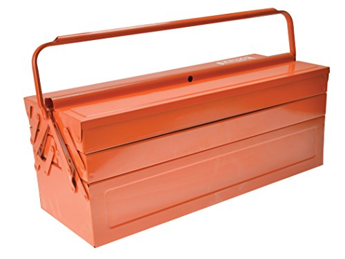Bahco Orange Metal Cantilever Tool Box 21in