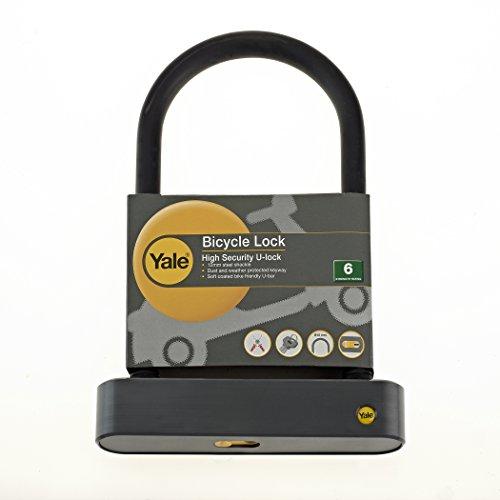 Yale U-Shaped Bike Lock 12 x 198mm