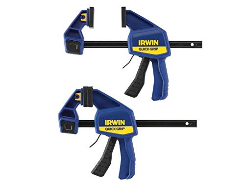 Irwin Quick-Change™ Medium-Duty Bar Clamp 150mm (6in) Twin Pack